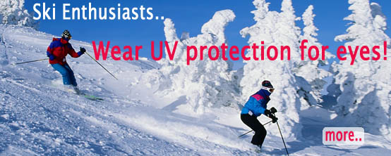 Ski Enthusiasts Reminded to Wear UV Protection for Eyes